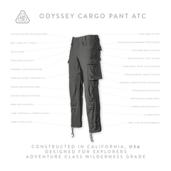 Odyssey Cargo Pant ATC - Machine Mineral Gray