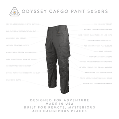 Odyssey Cargo Pant 5050RS - Machine Mineral Gray