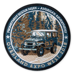 PDW + American Adventurist OEX West 2018 Morale Patch