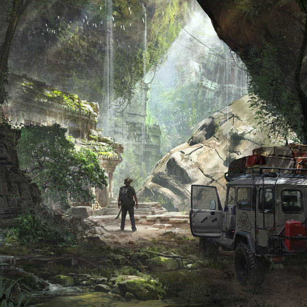 PDW Art Print - Jungle Ruins