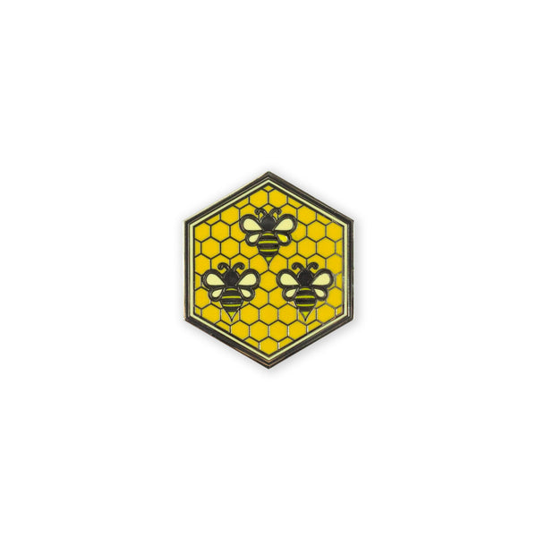 PDW Honey Bee Formation Lapel Pin