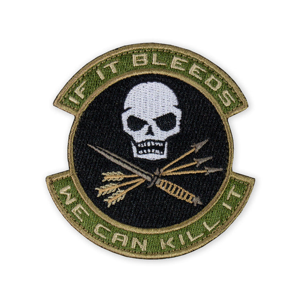 PDW If it Bleeds We Can Kill It Morale Patch