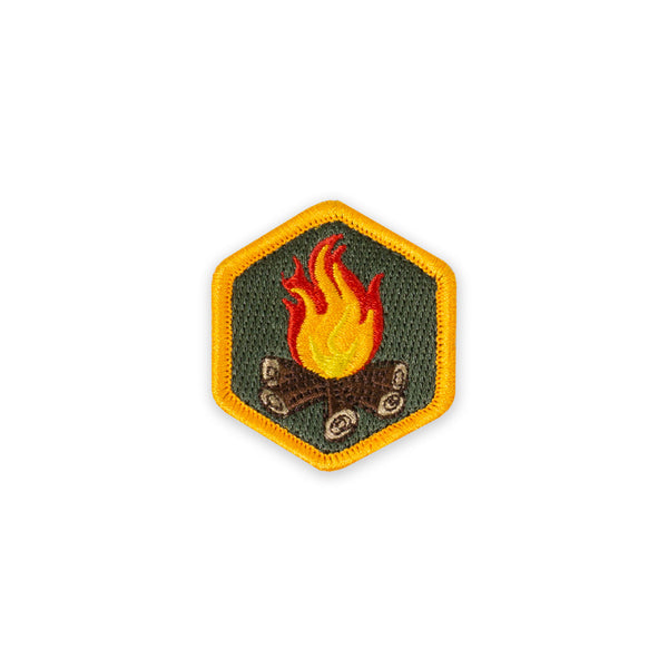 PDW Campfire Cover Size Morale Patch