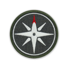 PDW Compass Rose GID Morale Patch