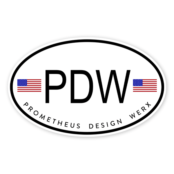 PDW International Sticker