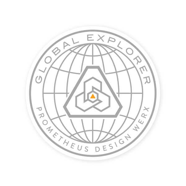 PDW Global Explorer Sticker