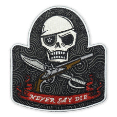 PDW Never Say Die 2018 LTD ED Morale Patch