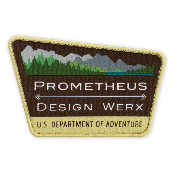 PDW Park Sign LTD ED Morale Patch