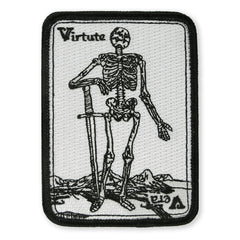 PDW Virtute Vera Death Card Morale Patch
