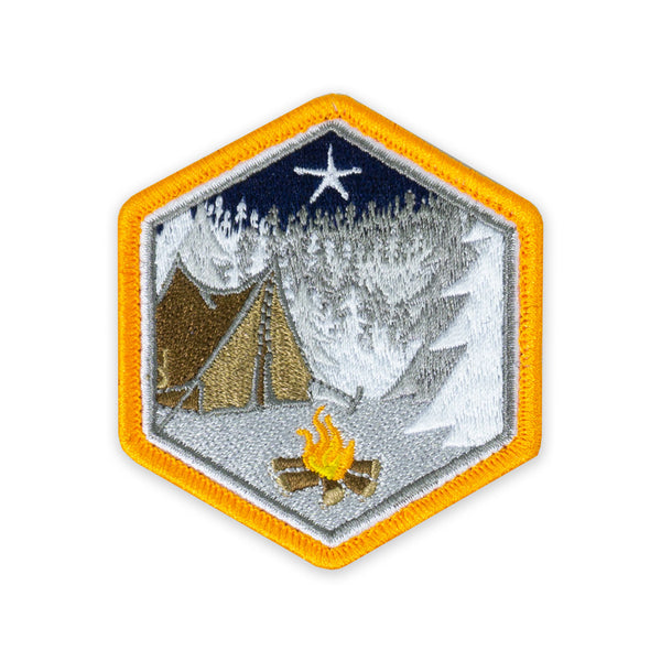 PDW Campsite Xmas Star Morale Patch