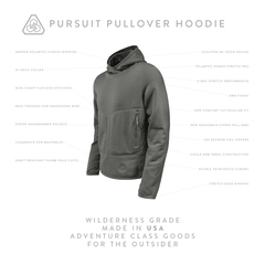 PDW Pursuit Pullover Hoodie - Machine Mineral Gray