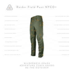 Raider Field Pant NYCO+ - Transitional Field Green