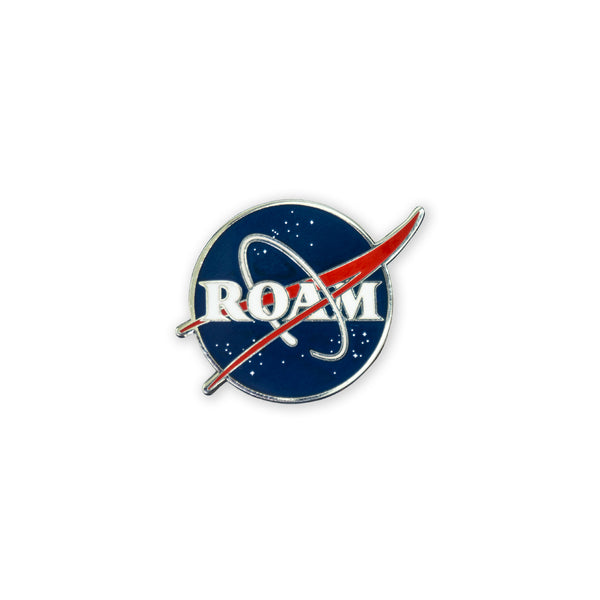 PDW ROAM Meatball Lapel Pin