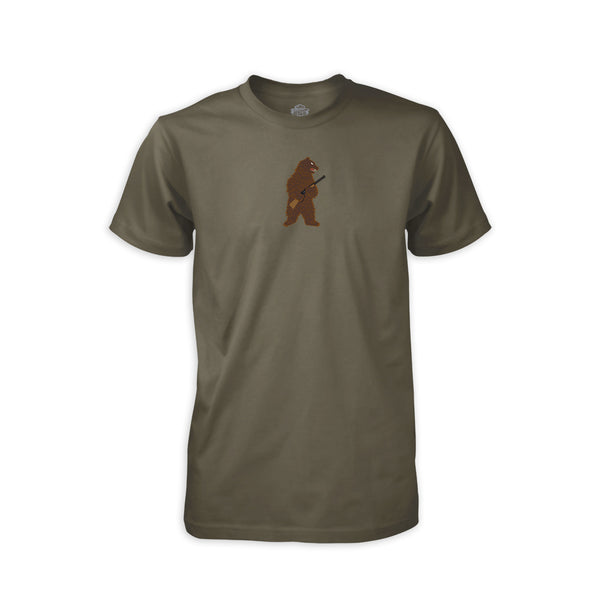 PDW The Right to Arm Bears T-Shirt - Drab