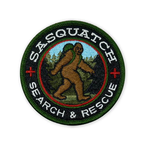 PDW Sasquatch Search & Rescue 2018 LTD ED Morale Patch