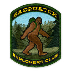 PDW Sasquatch Explorers Club 2019 LTD ED Morale Patch