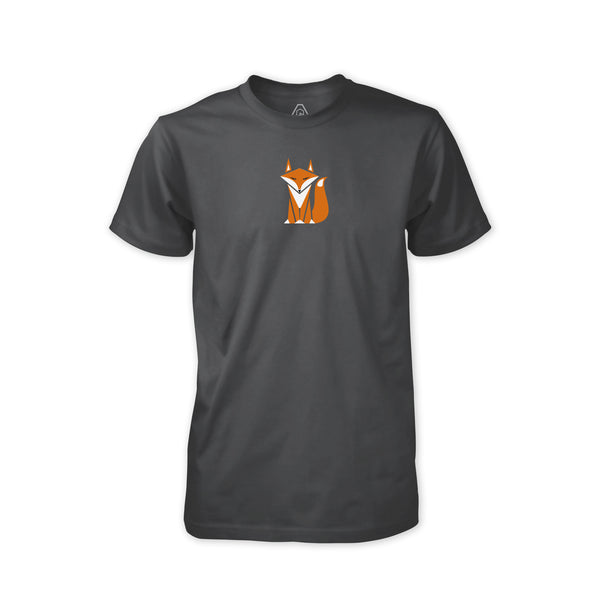 Smart Fox v1 T-Shirt - Asphalt