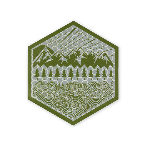 PDW All Terrain SOLAS Morale Patch - OD Green
