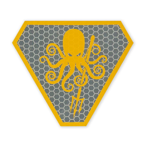 SPD Kraken 2018 SOLAS Morale Patch - Orange