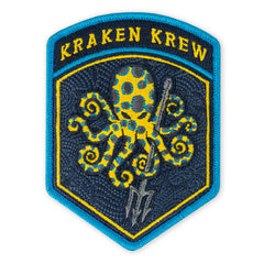 SPD Blue Ringed Kraken Krew Flash Morale Patch
