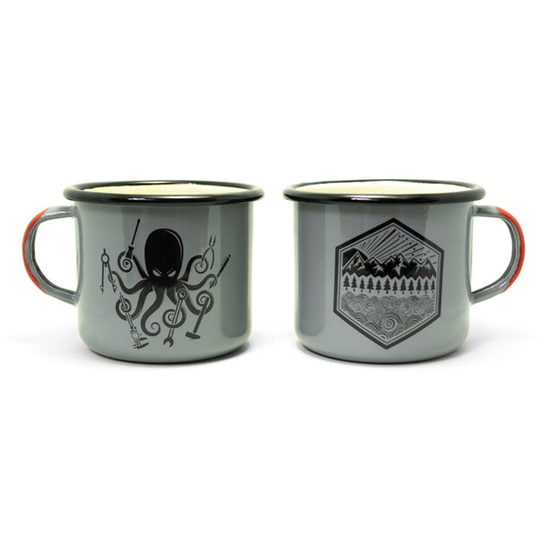 SPD Kraken DIY + All Terrain Enamelware Mugs 16oz