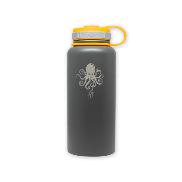 AG Insulated SS Water Bottle 32oz - Kraken Trident