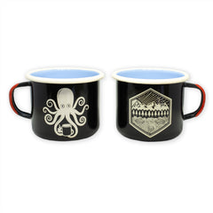 SPD Kraken Koffee + All Terrain Enamelware Mugs