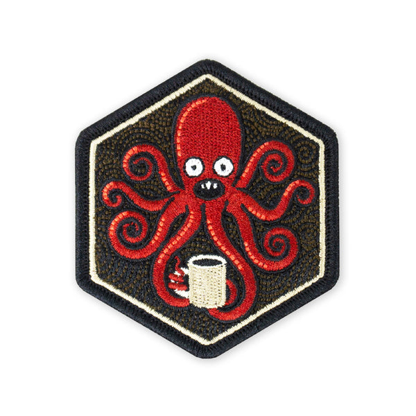 SPD Kraken Black Coffee 2019 Morale Patch