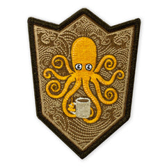 SPD Kraken Coffee Crest Morale Patch
