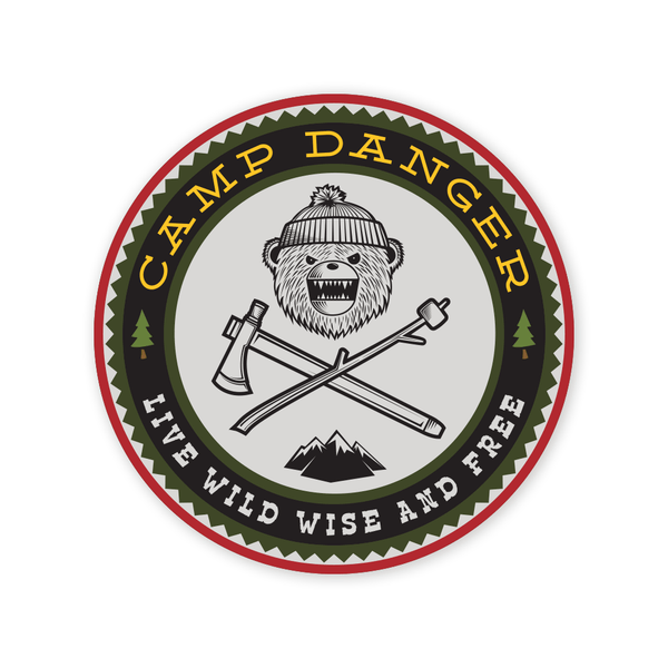 DRB Camp Danger 2018 Sticker