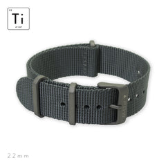 Ti-NATO Strap 22mm - Gray