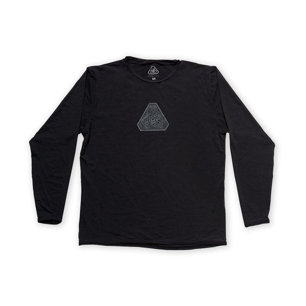 PDW Aqua Logo Waterman Shirt - Black