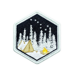 PDW Campsite Winter LTD ED Morale Patch