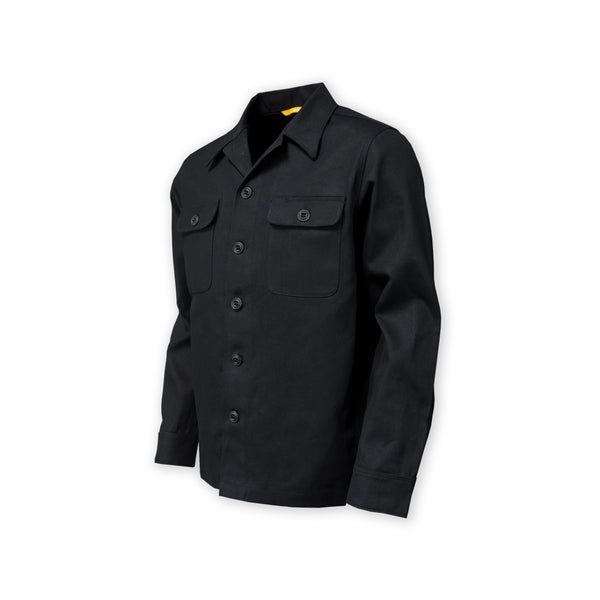 DRB Woodsman Werx Shirt - Black Cotton Canvas