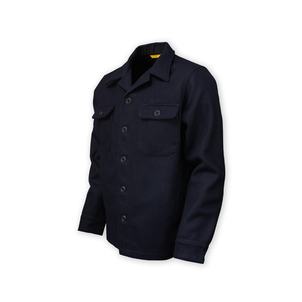 DRB Woodsman Shirt - Navy Blue Woolrich