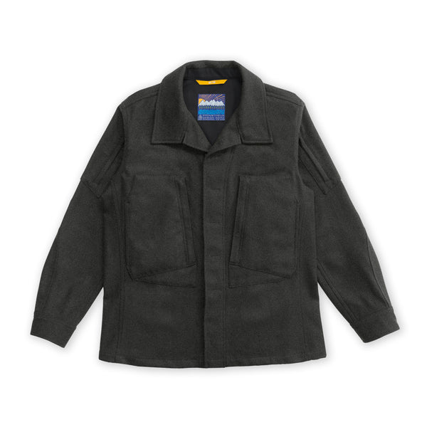 Wilderness Utility Top - Charcoal Gray Heather - WS