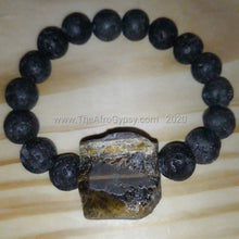 Load image into Gallery viewer, Rough and Tumbled Chunky Love Bracelet