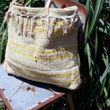 Load image into Gallery viewer, Cotton Woven Market Bag