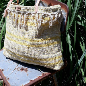 Cotton Woven Market Bag