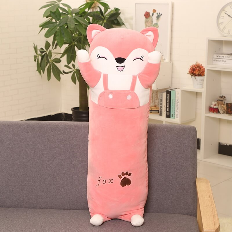 Long cat, pillow, cartoon, cute cat, pillow