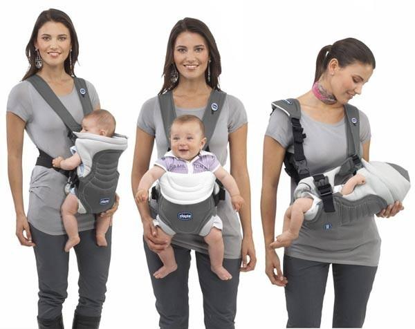 Newborn baby carrier bag