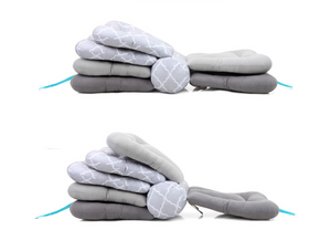 Feeding Pillow Baby Care Multifunction Nursing Breastfeeding Layered Washable Cover