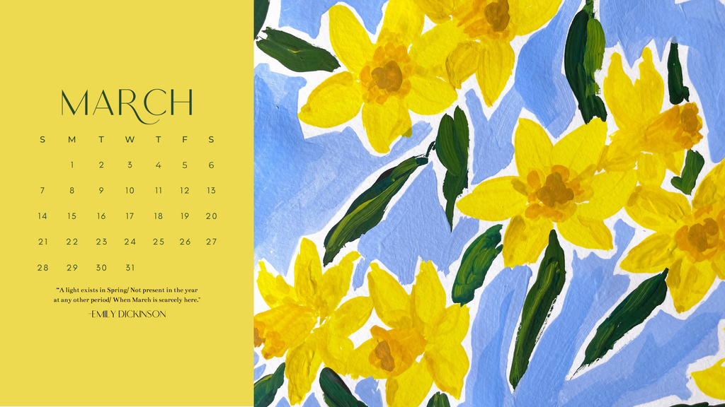 March wallpaper download
