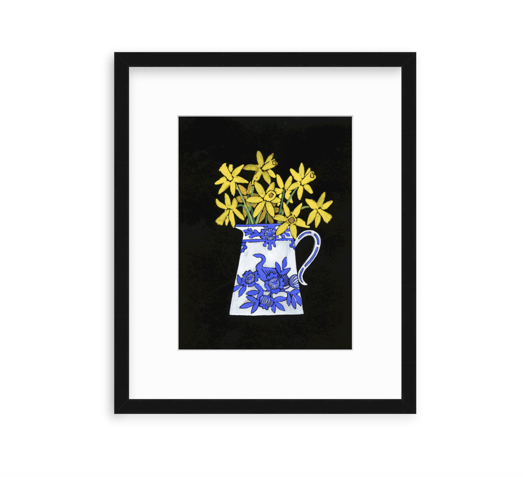 Daffodils in Porcelain