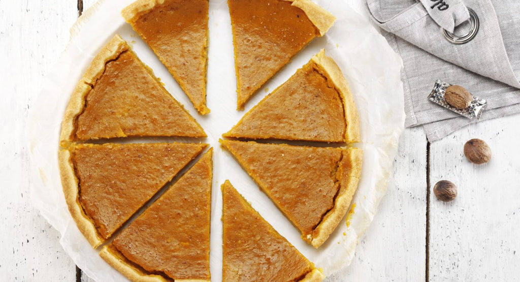 Pumpkin and spice tart