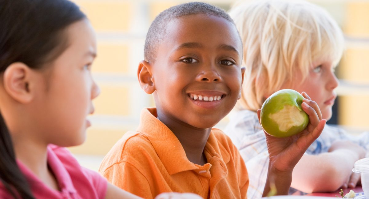 Why is it important to divide the energy children get from food in a balanced way depending on the meal? (Part 1)
