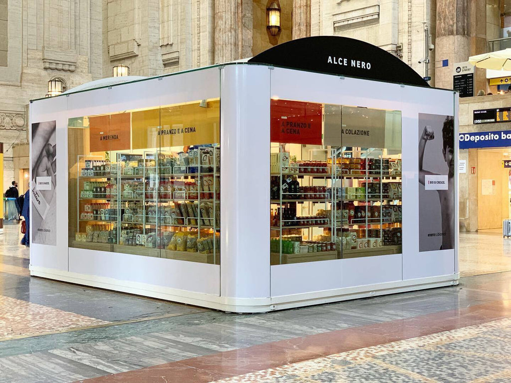 Our first Temporary Store opens at Milan's Central Station.
