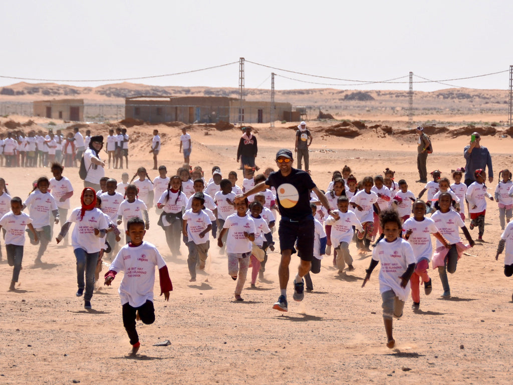 Why a marathon is held among the refugee camps in the Sahara desert