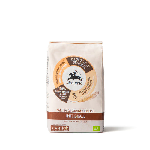 Organic soft wheat wholemeal flour - FA642