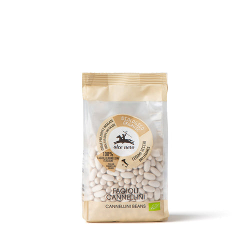Organic dried cannellini beans - LS467